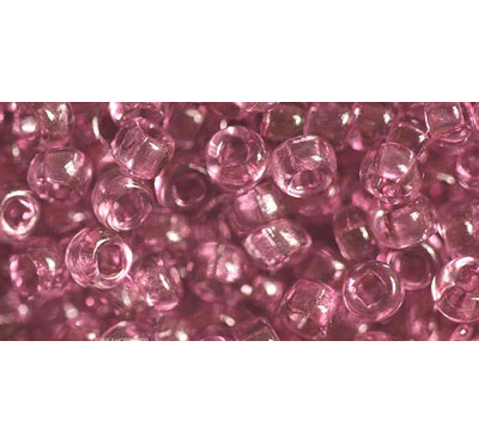 Бисер Preciosa 10/0 №01195 Прозрачный аметист , 1 сорт (50 гр)