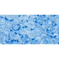 Бисер Preciosa 10/0 №01232 Прозрачный небесно-голубой, 1 сорт (50 гр)