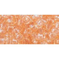 Бисер Preciosa 10/0 №01283 Прозрачный светло-оранжевый, 1 сорт (50 гр)