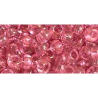 Бисер Preciosa 10/0 №01293 Прозрачный розовая пудра, 1 сорт (50 гр)