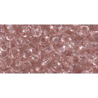 Бисер Preciosa 10/0 №01294 Прозрачный кремово-розовый, 1 сорт (50 гр)
