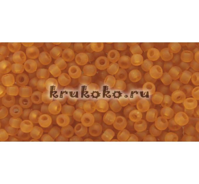 Бисер Toho 11/0 Прозрачный морозный топаз