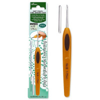 Clover Крючок для вязания Soft Touch, 0,6мм