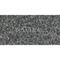 Бисер Toho 15/0 Прозрачный светло-серый (TR-15-9)
