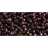 Бисер Preciosa 10/0 №27080H Внутреннее серебрение темный аметист, 2 сорт (50 гр)