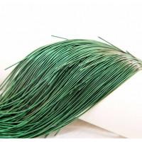 Канитель мягкая, 1 мм, темно-зеленая, (5 гр)