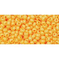 Бисер Preciosa 10/0 №16383 Непрозрачный желтый, 1 сорт (50 гр)