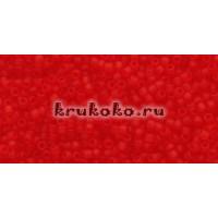 Бисер Toho 15/0 Прозрачный морозный светлый рубин