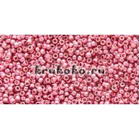 Бисер Toho 15/0 Permanent Finish гальванизированный винтажная роза