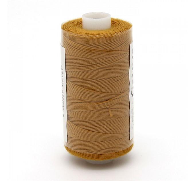 Micron Нить джинсовая 20s/3, №436 св.коричневая