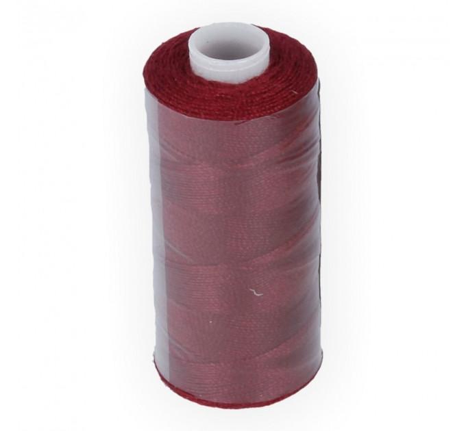 Micron Нить джинсовая 20s/2, №123 т.бордовый