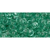Бисер Preciosa 10/0 №01164 Прозрачный изумруд, 1 сорт (50 гр)