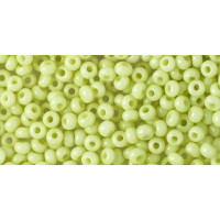 Бисер Preciosa 10/0 №03153 Непрозрачный салатовый, 1 сорт (50 гр)