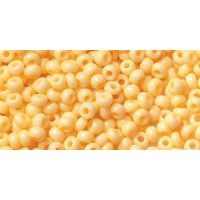 Бисер Preciosa 10/0 №03182 Непрозрачный абрикос, 1 сорт (50 гр)
