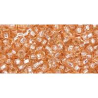 Бисер Preciosa 10/0 №08288 Внутреннее серебрение чайная роза, 1 сорт (50 гр)