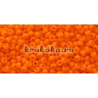 Бисер Toho 11/0 Непрозрачный морозный оранжевый