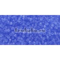 Бисер Toho 15/0 Прозрачный морозный светлый сапфир