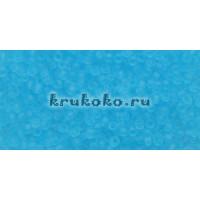 Бисер Toho 15/0 Прозрачный морозный аквамарин