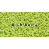 Бисер Toho 15/0 Непрозрачный кислое яблоко