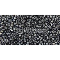 Бисер Miyuki Delica 11/0 Металлизированный  гематит (DB0001)
