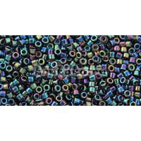 Бисер Miyuki Delica 11/0 Металлизированный сине-зеленый ирис (DB0005)